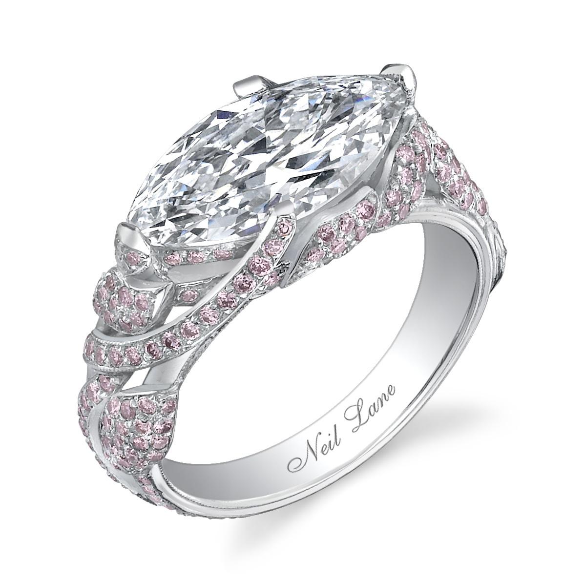 neil lane engagement rings celebrities neil lane wedding rings Portia de Rossi s ring Photo Courtesy of Neil Lane