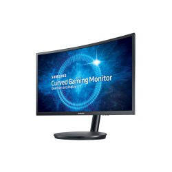 Small Crop Of Curved Vs Flat Monitor