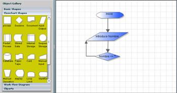 drawanywhere screenshot Crear Diagramas De Flujo, Proceso y Mas En Linea Con DrawAnyWhere