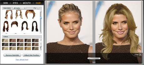 cambiar de look en linea Realiza tu cambio de look con cortes de cabello y maquillaje en línea con Taaz