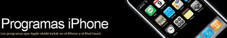 programas iphone Programas iPhone, sitios recomendados