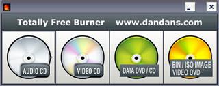 quemar dvd Quemar dvd y CD con Totally Free Burner