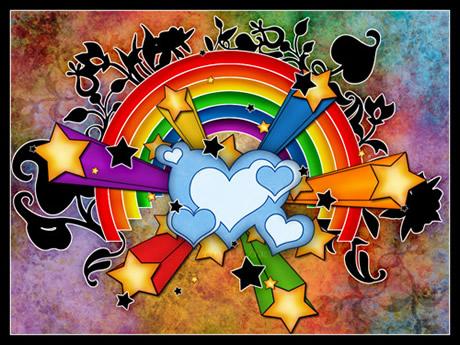 wallpapers arcoiris 2 Wallpapers de arcoiris