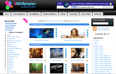 descargar wallpapers Descargar wallpapers gratis en Ewallpapers