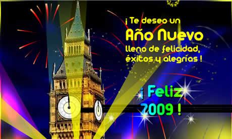 tarjetas ano nuevo Postales de año nuevo