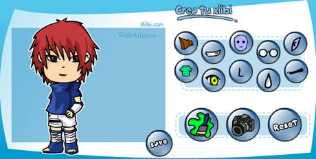 avatares manga Crear avatars en Xiibi