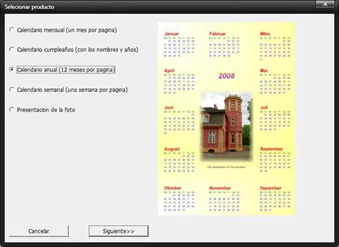 hacer calendarios Hacer calendarios con TKexe