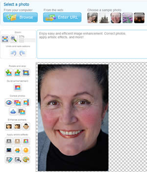 editor de fotos Corregir fotografias y mejorarlas con Pho.to