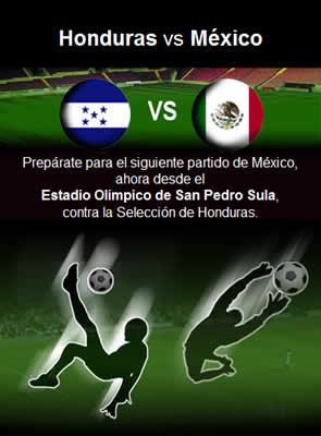 futbol mexicano mexico honduras Futbol mexicano, Mexico vs Honduras en vivo por internet