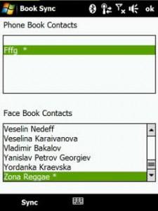 sincronizar contactos windows mobile 225x300 Sincronizar contactos con perfiles de facebook en windows mobile con BookSync