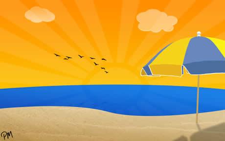 12 fondos playas Fondos de playa, 15 wallpapers para el verano