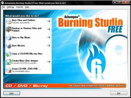 grabar dvd cd blu ray Grabar dvd, cds y bluray con Ashampoo Burning studio free