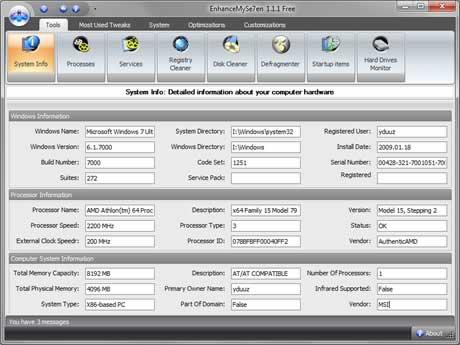optimizar windows Optimizar windows 7 con EnhaceMySe7ven
