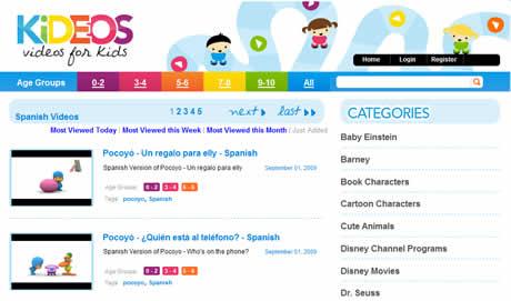 videos de ninos Videos para niños en Kideos