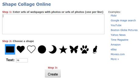 collages de fotos Crear collages de fotos online con Shape Collage