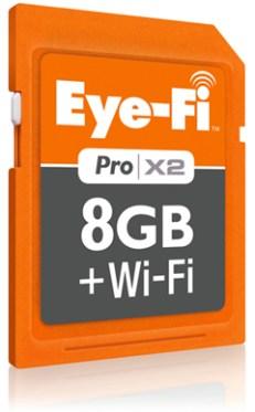 tarjeta sd con wifi eye fi pro x2 Tarjeta SD con WiFi incluye la Eye Fi Pro X2