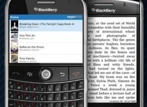 340x kindle blackberry 300x220 Amazon lanza una aplicación para BlackBerry de Kindle