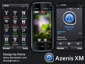 Azenis 300x225 Temas gratis para Nokia 5800
