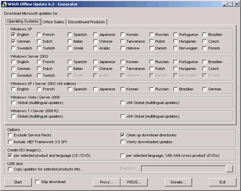 actualizar windows Actualizar windows offline con WSUS