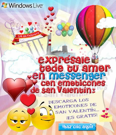 iconos messenger amor Iconos messenger de san valentin