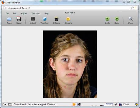 retocar fotos Retocar fotos online con Citrify