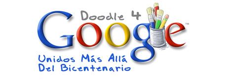 Doodle Logo Oficial Doodle 4 Google 2010 unidos por el bicentenario