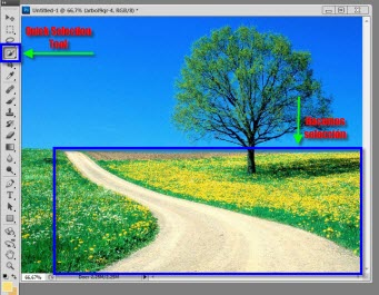 Photoshop 2 Como desaparecer cosas en imágenes con Content Aware Fill en Photoshop CS5