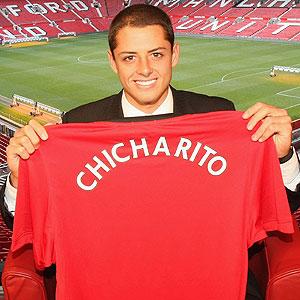 chicharito manchester united Chicharito al Manchester United