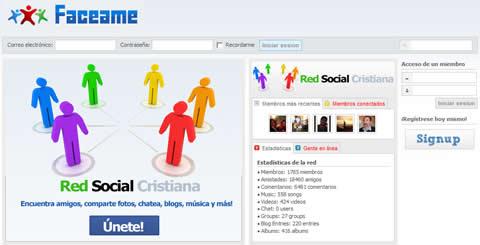cristianos Red social cristiana, Faceame.com