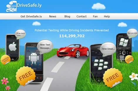 drivesafely Escuchar tus mensajes y emails en tu celular con DriveSafe.ly