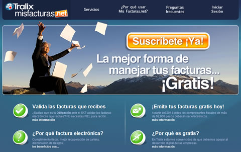 programa factura electronica Factura electronica gratis, misfacturas.net