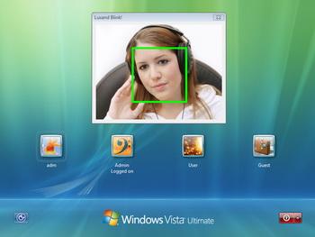 screenshot Que tu cara sea tu contraseña con Luxand Blink
