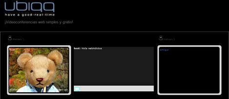 videoconferencias videoconferencias online con Ubiqq