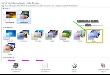 Como personalizar Aero en Windows 7 Como cambiar apariencia de ventanas Windows 7