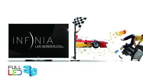 lg infinia Televisores LG INFINIA, Sin Bordes, Sin Límites