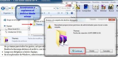 temas nuevos 2 Como instalar temas en Windows 7 no oficiales