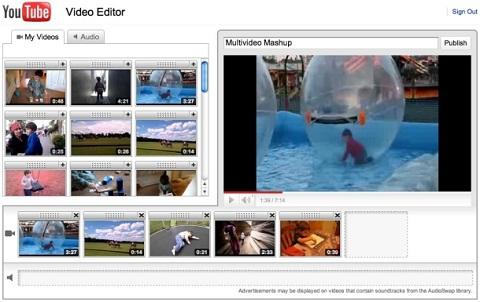 YouTube editor video Editor de videos en Youtube