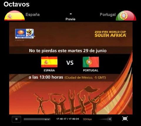 espana portugal en vivo mundial España vs Portugal en vivo