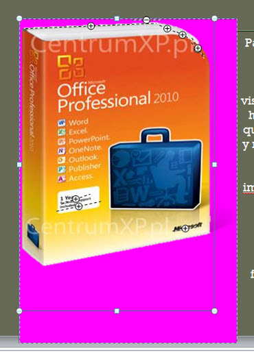 imagenes fondo office 2010 Desaparecer fondo de imágenes en Office 2010