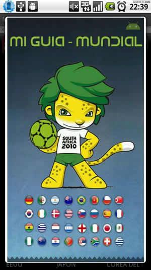 miguiamundial Mundial Sudafrica 2010 en tu android