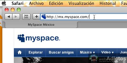 Como abrir myspace 1 Abrir cuenta MySpace