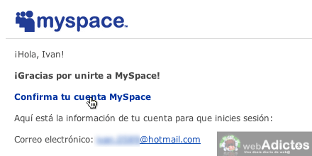 Como abrir myspace 6 Abrir cuenta MySpace