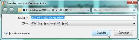 Crear panoramica Galeria fotos de Windows 6 Hacer fotos panorámicas con la galería de Windows Live