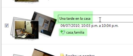 Importar fotos camara galeria fotografica windows 6 Importar fotos con Galería de Fotos de Windows Live
