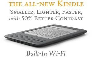 Kindle3 Amazon lanza un nuevo Kindle