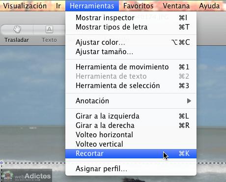 Recortar fotos e imagenes con Vista previa 4 Como recortar fotos con Vista Previa