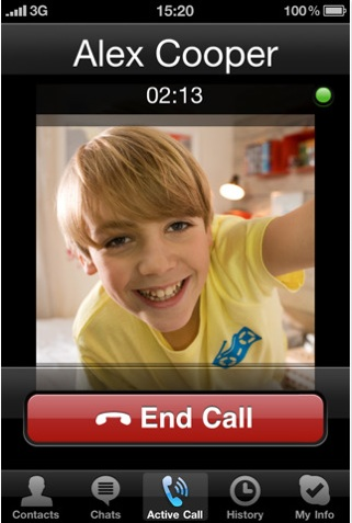 skype for iphone Skype para iPhone se actualiza