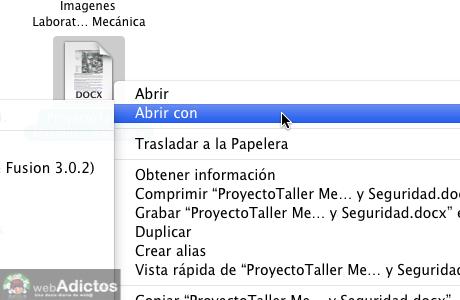 Abrir con otra aplicacion por omision 2 Cambiar la aplicacion que abre un archivo por omisión en Mac