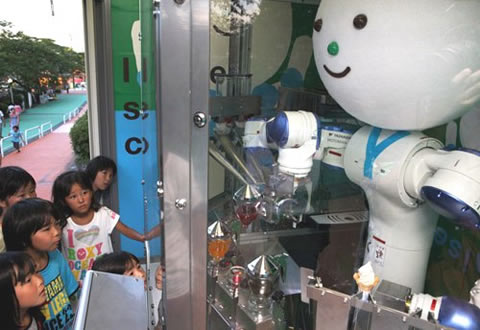 Yaskawa kun Robot que sirve helados, Yaskawa kun