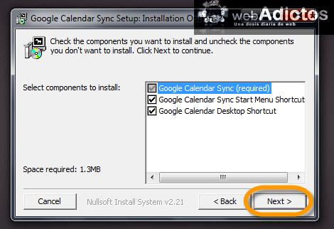instalar google calendar sync Sincronizar Outlook con Google Calendar